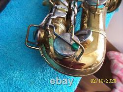 1924 Conn New Wonder Series I Alto saxophone sax tested Chu Berry MIcro neck