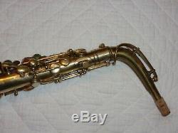 1925 Conn New Wonder Gold-Plated Portrait Pre-Chu Alto Saxophone, Plays Great