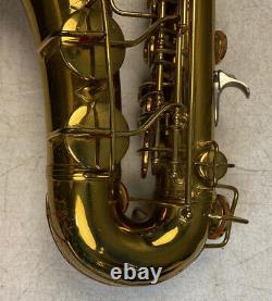 1932 Conn Model 6m Alto Saxophone Rolled Tone Holes Microtuner Neck M250xxx