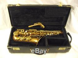 1936 Selmer Paris Balanced Action Professional Alto Saxophone 21, XXX Rare Wow