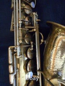 1937 Selmer Paris Balanced Action Alto Sax. Refurbished. PRICE LOWERED