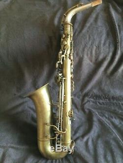 1938 King Zephyr Special Alto Saxophone Recent Overhaul