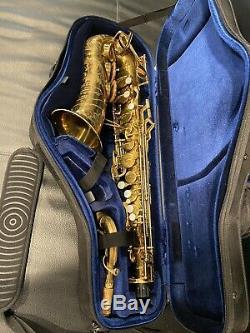 1942 Buescher 400 Top Hat & Cane Professional Alto Saxophone Excellent Condition