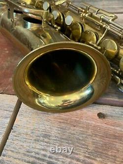 1952 King Zephyr Alto Saxophone For Repair or Parts