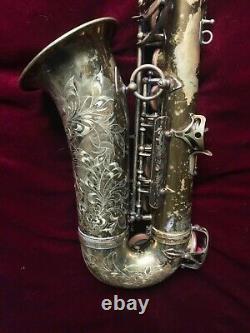 1953 Selmer Super Balanced Action Alto Saxophone! Overhauled! DEMO