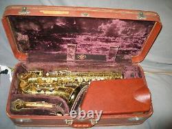 1954 Noblet Paris Eb Alto Saxophone