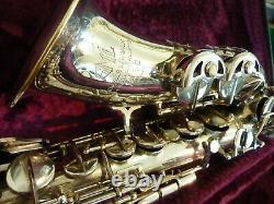 1955 Rev D Gold Medal Sml Alto Saxophone