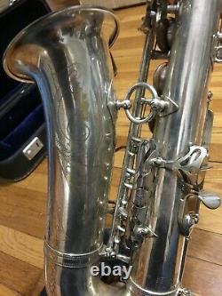 1960 Silver Mark VI Alto Sax