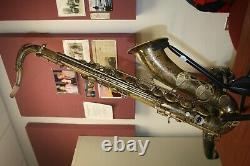 1961 Selmer Paris Mark VI Tenor Saxophone