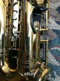 1967 Selmer Mark VI Alto Saxophone 144xxx Original Owner Sanborn Vintage