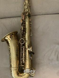 1969 Selmer Mark VI Alto Saxophone