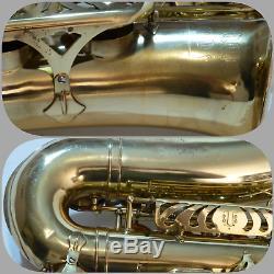 1971 Dorado 600 A-5 Professional Alto Saxophone Yanagisawa Stencil