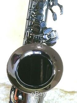 2018 CANNONBALL Big Bell Stone Series Alto Saxophone Polished Black Nickel