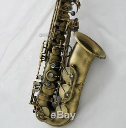 2019 Professional Eb Alto Saxophone New Sax Antique Saxofon With Case