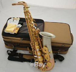 2019 Professional Matt Rose brass Alto Saxophone cupronickel Bell Eb SAX WithCase