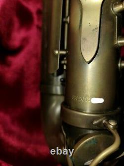 Adolphe Sax & Cie Dinant II Alto Saxophone MINT