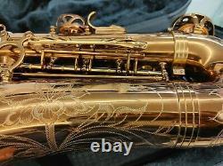 Allora Chicago Jazz Alto Saxophone Level 3 AAAS-954 Dark Gold Lacquer