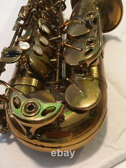 Alto Sax Selmer Reference 54 Hummingbird Just Overhauled, Just Amazing