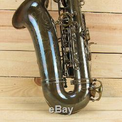 Antigua AS6200CA Pro One Professional Alto Saxophone, Classic Antique Finish