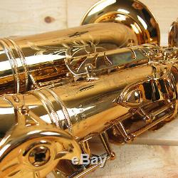 Antigua AS6200VLQ ProOne Professional Alto Saxophone, Vintage Lacquer Finish