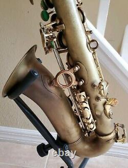 B&S 2001 Alto Saxophone fresh overhaul with roo pads