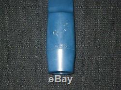 Blue Vandoren Alto Saxophone Mouthpiece Java Vintage 1980's A55 Tip