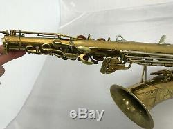 Buescher 400 Top Hat & Cane alto saxophone - SEE VIDEO