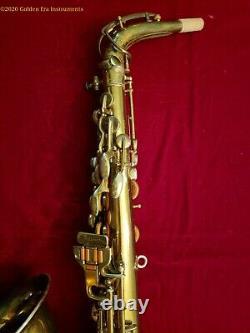Buescher Aristocrat Alto Saxophone Circa 1936