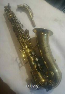 Buescher Aristocrat II Alto Saxophone 1950 Model 140 like Big B Norton Springs