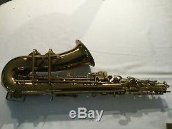 Buescher Big B Alto Sax Overhauled Original Lacquer Circa 1948
