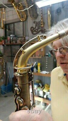 Buescher True-tone Alto Saxophone Gold-plated Low Pitch