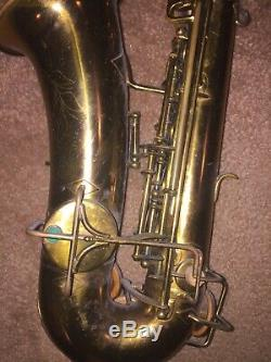 Buesher Elgart Professional Gold EB Alto Saxophone