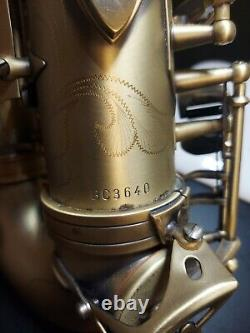 Buffet Crampon 400 Series Professional Alto Saxophone MINT FREE SAME DAY SHIP