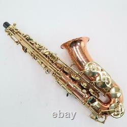 Buffet Crampon'Prestige' Alto Saxophone in Solid Copper SN 35456E VERY RARE