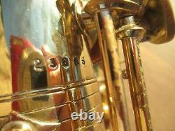 Buffet Sd-1 / Super Dynaction Transitional Alto Saxophone Plays Well Orgl Lacqr
