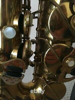 Buffet Super Dynaction Alto Saxophone original lacquer, in great shape