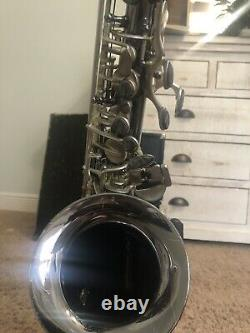 CANNONBALL Big Bell Stone Series Alto Saxophone Polished Black/Nickel