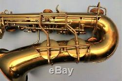 CONN 6M VIII ALTO SAXOPHONE. ARTIST MODEL. Lady Face. ROLLED TONEHOLES. NICE