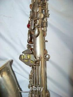 CONN 6m viii Silver/ Gold ALTO SAXOPHONE -RTH, VG ResoPADS/ VERY GOOD CONDITION