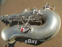 CONN CHU BERRY ALTO SAXOPHONE CIRCA 1927 RT Holes Plays Well with Recent RePad
