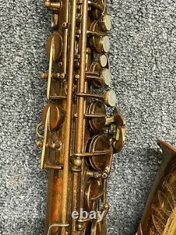 C. G. Conn Connqueror 26m VIII Naked Lady Alto Saxophone Rare