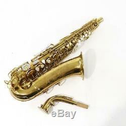 C. G. Conn Model 26M CONNquerer Professional Alto Saxophone SN 285380 SUPERB! WOW