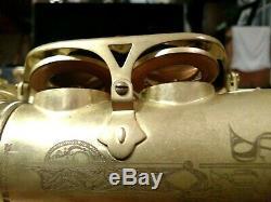 Cannonball Big Bell Stone Series Mad Meg Professional Alto Saxophone w Orig Case