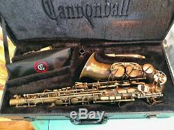 Cannonball Big Bell Stone Series The Brute Alto Saxophone Never Used