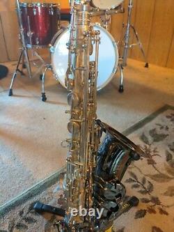 Cannonball Pro Alto Saxophone (Gerald Albright Pro Model) needs servicing