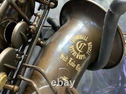 Cannonball Pro Alto Saxophone The Brute Aged Brass Finish