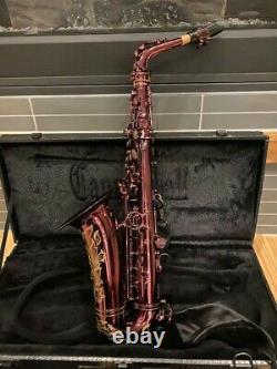Cannonball Professional Alto Saxophone Big Bell Stone Series Black Ruby Premium