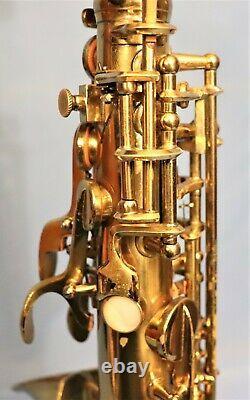 Conn 6M Alto Saxophone #338360. Lady Face, Microtuner, Underslung Octave Key