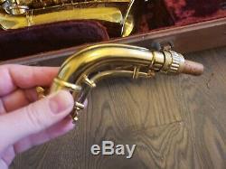 Conn 6M Naked Lady Alto Saxophone Nice