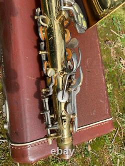 Conn 6M alto saxophone. Pro overhaul, all new pads and corks